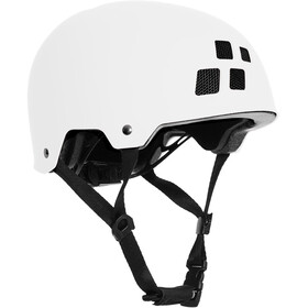 Cube Dirt Helmet Barn white
